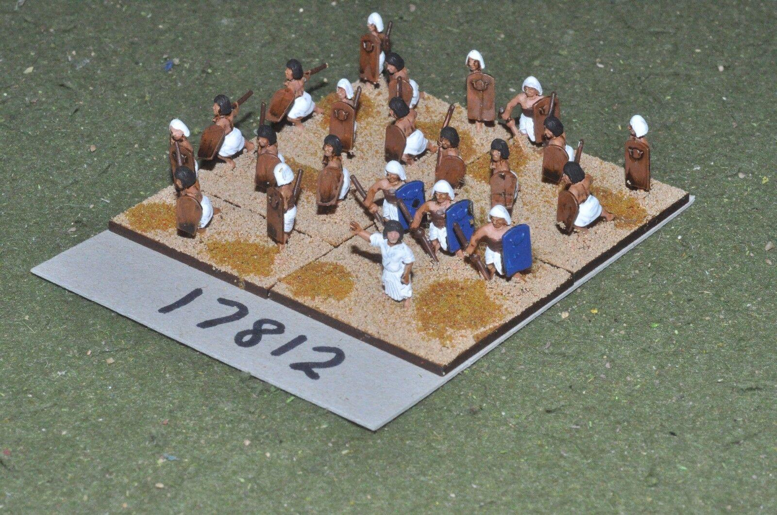 15mm biblical   egyptian - javelinmen 22 figures - inf (17812)