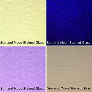 8X10 4 Sheets of PURPLE Wissmach Stained Glass Sheet Pack - FAST SHIPPING!