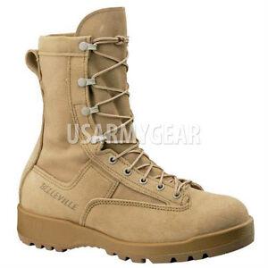 Original USA Belleville Combat Bottes Bottes Chaussures en cuir vibram gore-tex OUTDOO