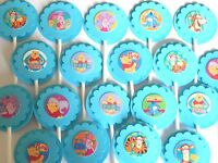 30 Winnie The Pooh Cupcake Toppers Birthday Party Favors, Baby Shower 30