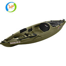 Sun Dolphin Journey 10' Sit-On Fishing Kayak with Paddle, Olive New Green Kayak