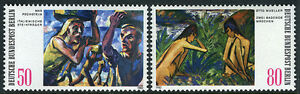 Germany-Berlin 9N474-9N475, MNH.Paintings by Max Pechstein and Otto Mueller,1982