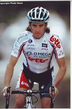 CYCLISME repro PHOTO cycliste DANIEL MORENO FERNANDEZ équipe OMEGA PHARMA LOTTO
