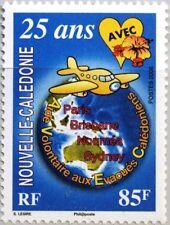 NEW CALEDONIA NEUKALEDONIEN 2006 1402 999 AVEC Flugzeug Landkarte Medizin MNH
