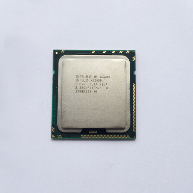 CPU Intel Xeon W3680 3.33 GHz Six Core CPU Processor SLBV2 LGA 1366 CPU