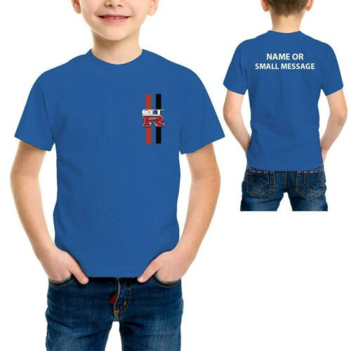 GTR Kids stripes Kids Stripes inspired Printed T-Shirt Nissan Skyline Sports