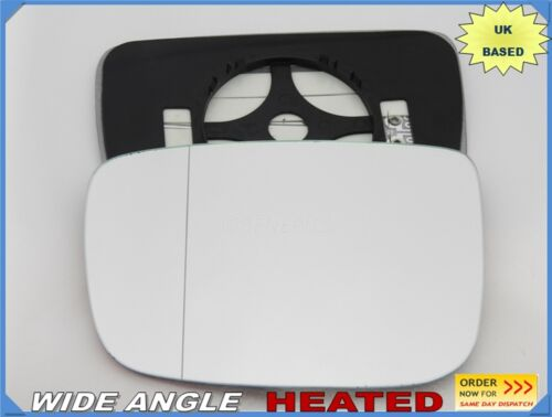 For VOLVO XC60 2008-2016 Wing Mirror Glass Wide Angle HEATED Left Side //P019