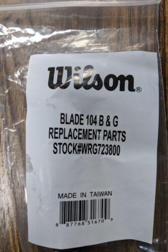 WRG723800 GREEN//BLACK 18x19 BUMPERGUARD // GROMMET SET: WILSON BLX BLADE 104