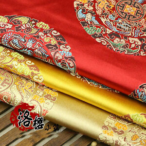 Chinese-Ancient-Costume-Pillow-Jacquard-Cloth-Senior-Clothes-Woven-Damask-Fabric