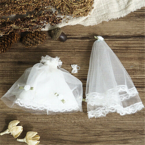 Wedding Dresses Overalls for OB11 GSC BJD Doll Clothes Costume Clothing Finished