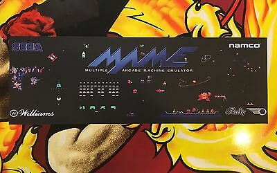 Multicade Arcade Classics Marquee For Reproduction Header//Backlit Sign
