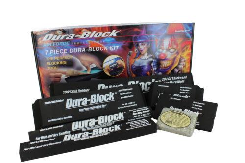 AF4408-S AF4400 thru AF4405 DuraBlock AF44L 7-Piece Dura Block Sanding Kit