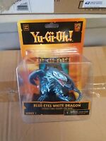 Yu-gi-oh Blue Eyes White Dragon Diorama With Collectible Action Figure Neca