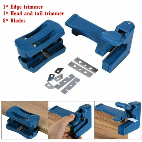 10Pcs Double Edge Trimmer Wood Head Tail Trimming Carpenter Banding Machine Tool