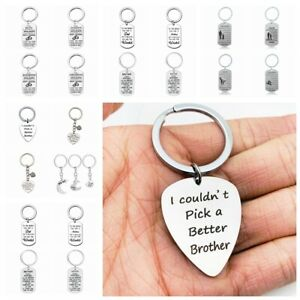 Stainless-Steel-Keychain-Sister-Brother-Dad-Mom-Daughter-Son-Family-Love