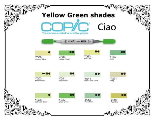 NEU COPIC ciao Allround-Marker Yellowish Shade
