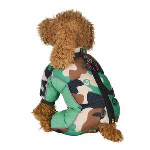 Winter-Pet-Dog-Warm-Waterproof-Coat-Padded-Camo-Jacket-Jumpsuit-Outdoor-Clothes