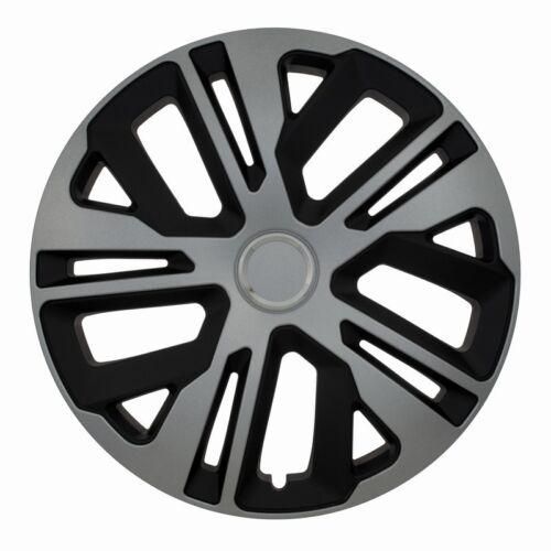 """Regalo Gratis #l Juego de 4 de 15 /""""rueda Adornos cubierta Multipla tapas de ajuste Fiat Doblo"""