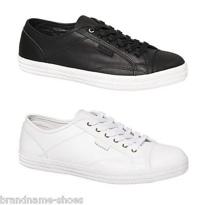 mens dunlop volley ss premium leather men's sneakers