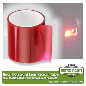 Rear Fog Light Lens Repair Tape for Seat.  Rear Tail Lamp MOT Fix