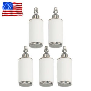 5 Fuel Filters For Weedeater Poulan Husqvarna Craftsman Trimmer Chainsaw Blower
