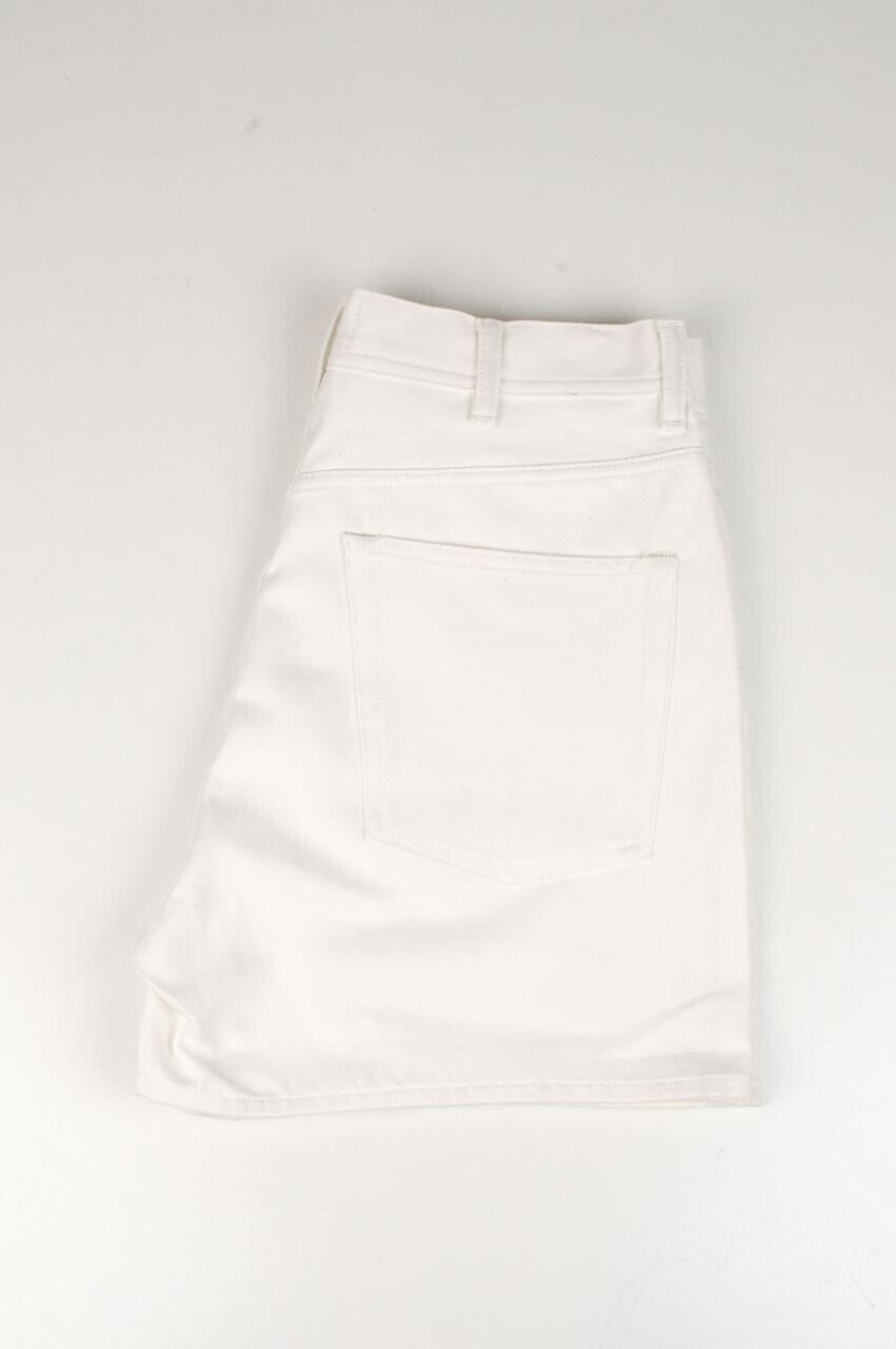 33757 Acne Studios Kanu Weiß Damen Shorts Größe 30