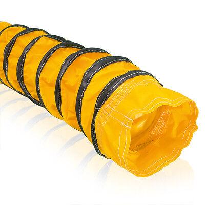 600mm Attraktive Designs; Verschiedene Durchmesser Von 305mm 7,6 Meter Pflichtbewusst Warmluftschlauch Gelb