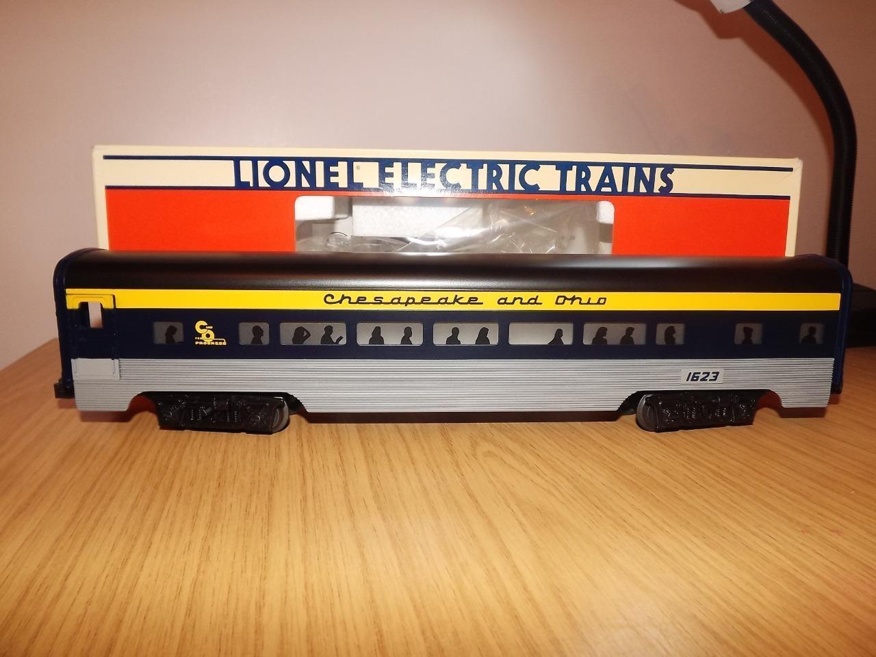 Ab49: Lionel O Gauge Chesapeake & Ohio - Passenger Car - 6-16146  Exc / Boxed