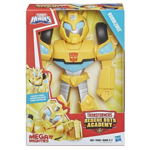 """Playskool Heroes Transformers Rescue Bots Academy Mega Mighties 10/"""" Bumblebee"""