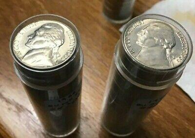 2020 P Jefferson Nickel 40 Coin BU Uncirculated Roll Philadelphia Mint OBW Wrap