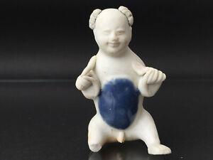 Figur eines KNABEN Porzellan Schatz CHINA um 1820 TEK SING figure of a boy