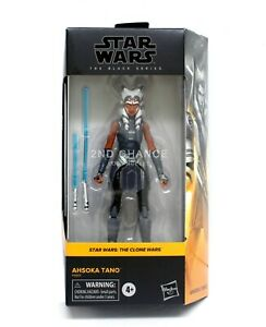 Star Wars The Black Series Clone Wars AHSOKA TANO 6'' Figure WALMART EXCLUSIVE