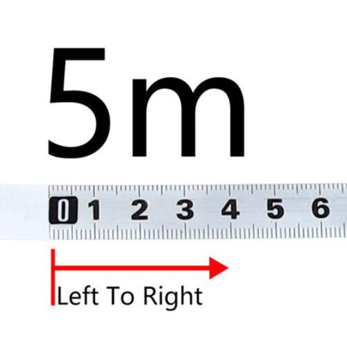 1-5 M Mite Scie Piste Adhésif Ruban à mesurer échelle Règle Fit pour le travail du bois Outil