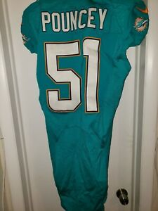 Details about Miami Dolphins Mike Pouncey Game Used Jersey