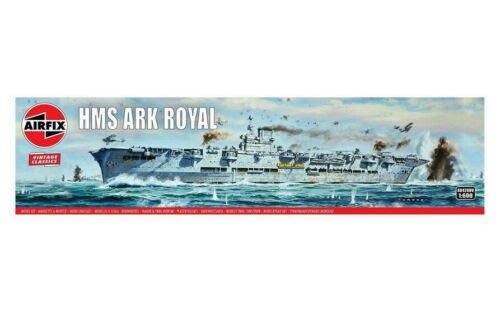 HMS Ark Royal Aircraft Carrier Airfix 1//600 Vintage Classics