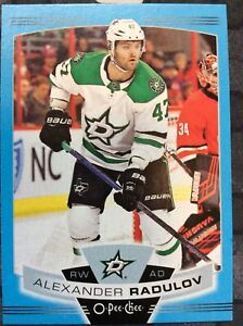 O-Pee-Chee-2019-2020-ALEXANDER-RADULOV-BLUE-BORDER-HOCKEY-CARD-397