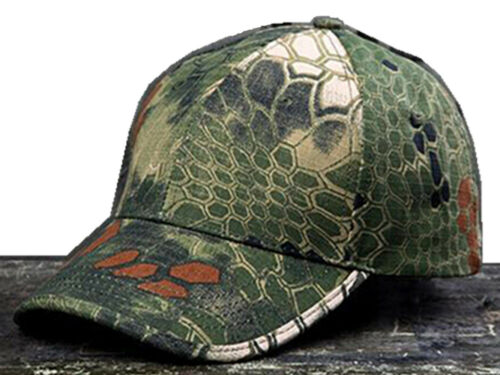 Python Woodland Camouflage Hat Simplicity Outdoor Sun Hat Army Hat Tactical Cap