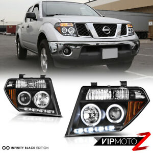 Image Is Loading For 05 07 Nissan Pathfinder Frontier Black Halo