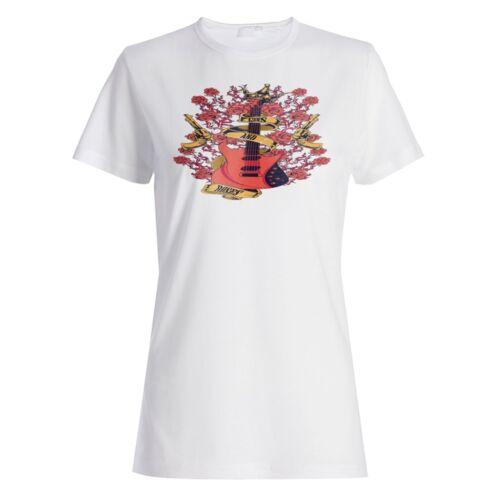 Guns and Roses Guitare électrique Femmes T-shirt//Débardeur x308f