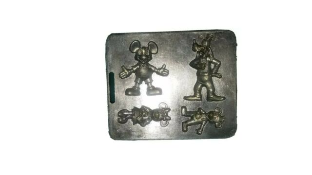 1966 Mickey Mouse Metal Mold