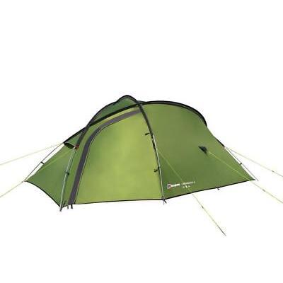 Green Berghaus Cairngorm 3 Man Tent