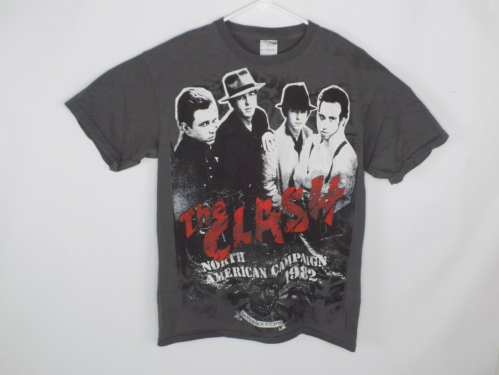 The Clash North American Campaign 1982 T Shirt Me… - image 6