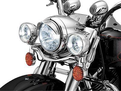 "Harley Davidson - Show Chrome 7"" motorcycle headlight ""VISOR"" #2182"