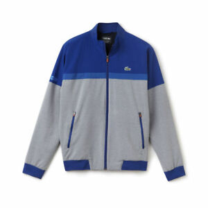 Lacoste Mens Sport Tennis color Block Double Face Taffeta Jacket ... a357202f5b2