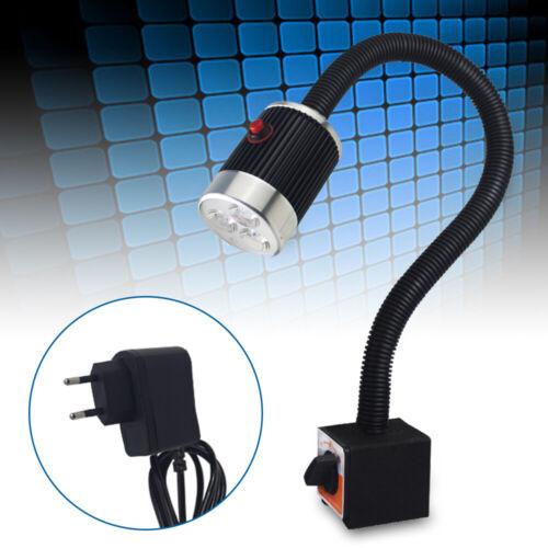 6W CNC Drehmaschine LED Arbeitsleuchte Licht Schwanenhals Magnetische Basis DHL