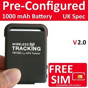 Image Is Loading Genuine Gps Tracker Car Vehicle Spy Mini Personal