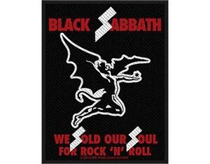 BLACK-SABBATH-we-sold-our-2013-WOVEN-SEW-ON-PATCH-sealed-Ozzy-Osbourne