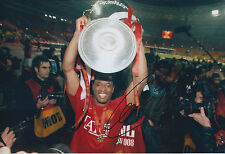 Patrice EVRA Signed Autograph 12x8 Photo AFTAL COA Manchester United Captain