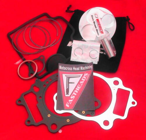CRF250R 2008-2009 Wiseco Piston Kit 13.6 OEM Cylinder Head Gasket Set A