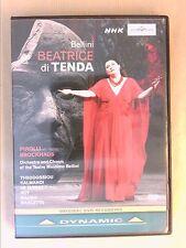 DVD OPERA / BEATRICE DI TENDA / BELLINI / ANTONIO PIROLLI CONDUCTOR / TB ETAT